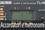 Accordatori e Metronomi