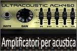 Amplificatori per acustica