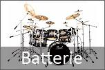 Batteria acustica completa di meccaniche e piatti