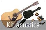 Kit chitarra acustica