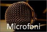 Dettaglio microfono per voce
