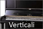 Pianoforti acustici verticali