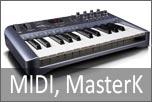MIDI e Master keyboards