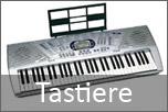 Tastiera musicale con ritmi