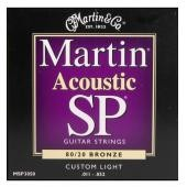 MARTIN MSP-3050 SP 80/20 BRONZE CUSTOM LIGHT