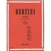 BERTINI E. - 25 STUDI PER IL I GRADO OP. 100 FASCICOLO I