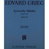 GRIEG E. - PEZZI LIRICI VOL. 3 OP. 43 (HV644)