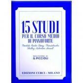 AA.VV. - 15 STUDI PER IL CORSO MEDIO (PICCIOLI) (EC 4733)