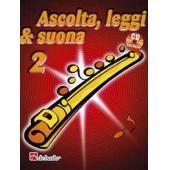 AA.VV. - ASCOLTA LEGGI E SUONA VOL. 2 FLAUTO + CD
