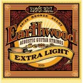 ERNIE BALL 2006 XL EARTWOOD 010/050