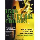 MARTIN D. - 1536 GUITAR CHORDS FOR POP-ROCK-JAZZ