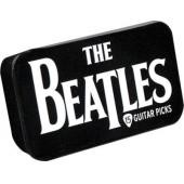 PLANET WAVES BEATLES SET 15 PLETTRI SCATOLA METALLO LOGO