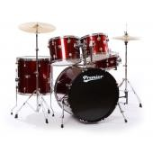 PREMIER 6195WR-S SET OLYMPIC ROCK22 WINE RED
