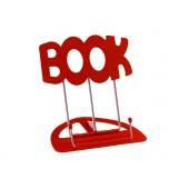K&M LEGGIO DA TAVOLO BOOK ROSSO