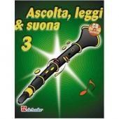AA.VV. - ASCOLTA LEGGI E SUONA VOL. 3 CLARINETTO + CD