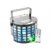 EGO LED RADICAL 6X3W RGBAWP + LASER R/G, D