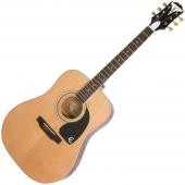 EPIPHONE PRO-1 PLUS ACOUSTIC GUITAR FOR BEGINNERS NATURAL