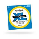 D'ADDARIO EXL 125 SUPER LIGHT TOP 009/046