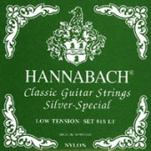 HANNABACH SET. 815 LT/VERDE LOW TENSION SILVER SPECIAL