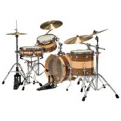 Batteria LUDWIG EPIC CROSSOVER STRIPED LRS20DX-N NATURAL