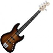 SQUIER DELUXE JAZZ BASS V ACTIVE RW 3TSB