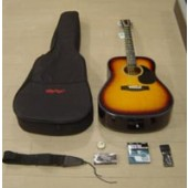 Kit Chitarra Acustica ROLING'S MG-410K  BROWN BURST