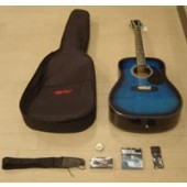 Kit Chitarra Acustica ROLING'S MG-410K BLUE BURST