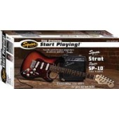SQUIER STOP DREAMING START PLAYING SET SP10G BSB